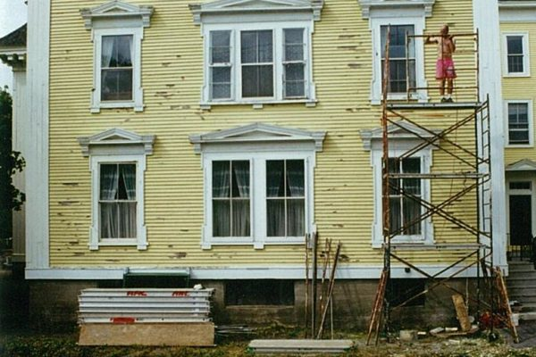 Historic Park Hall gets repainted as student residence