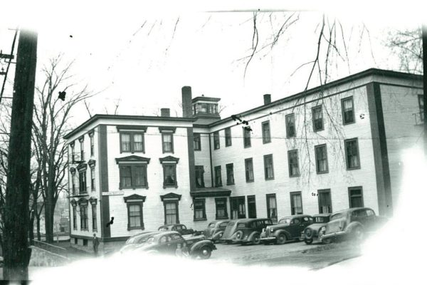 Park Hall was originally home to workers from Ganong Bros.