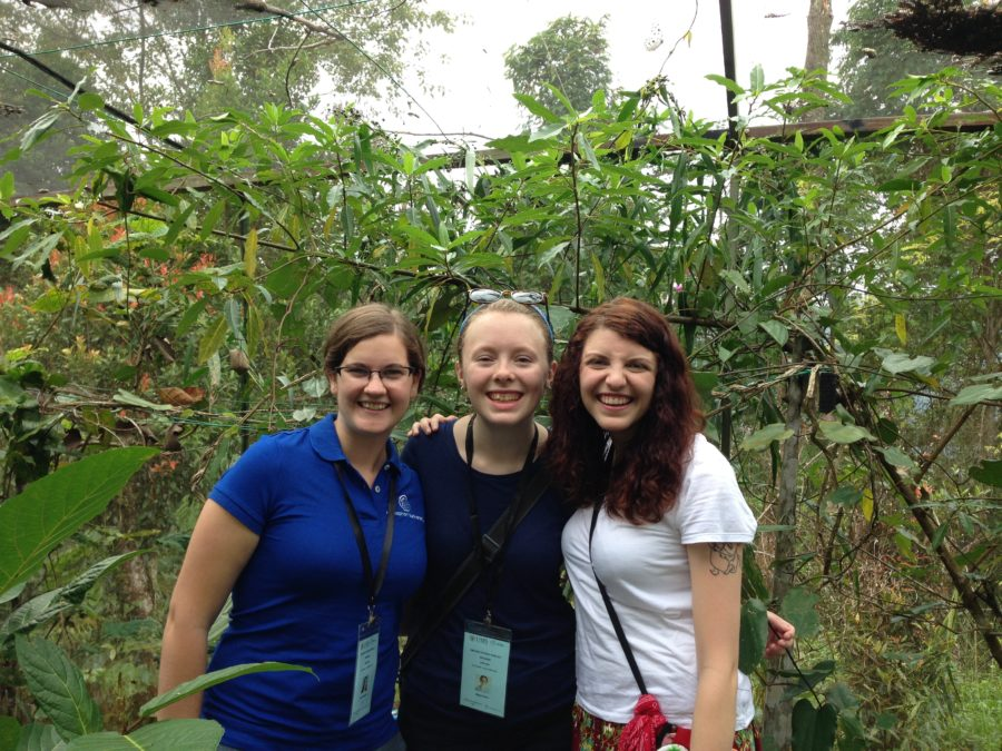 Students in Asia on their study tour as part of their bachelors degree