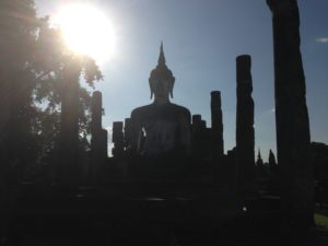 The ancient ruins of Sukhothai
